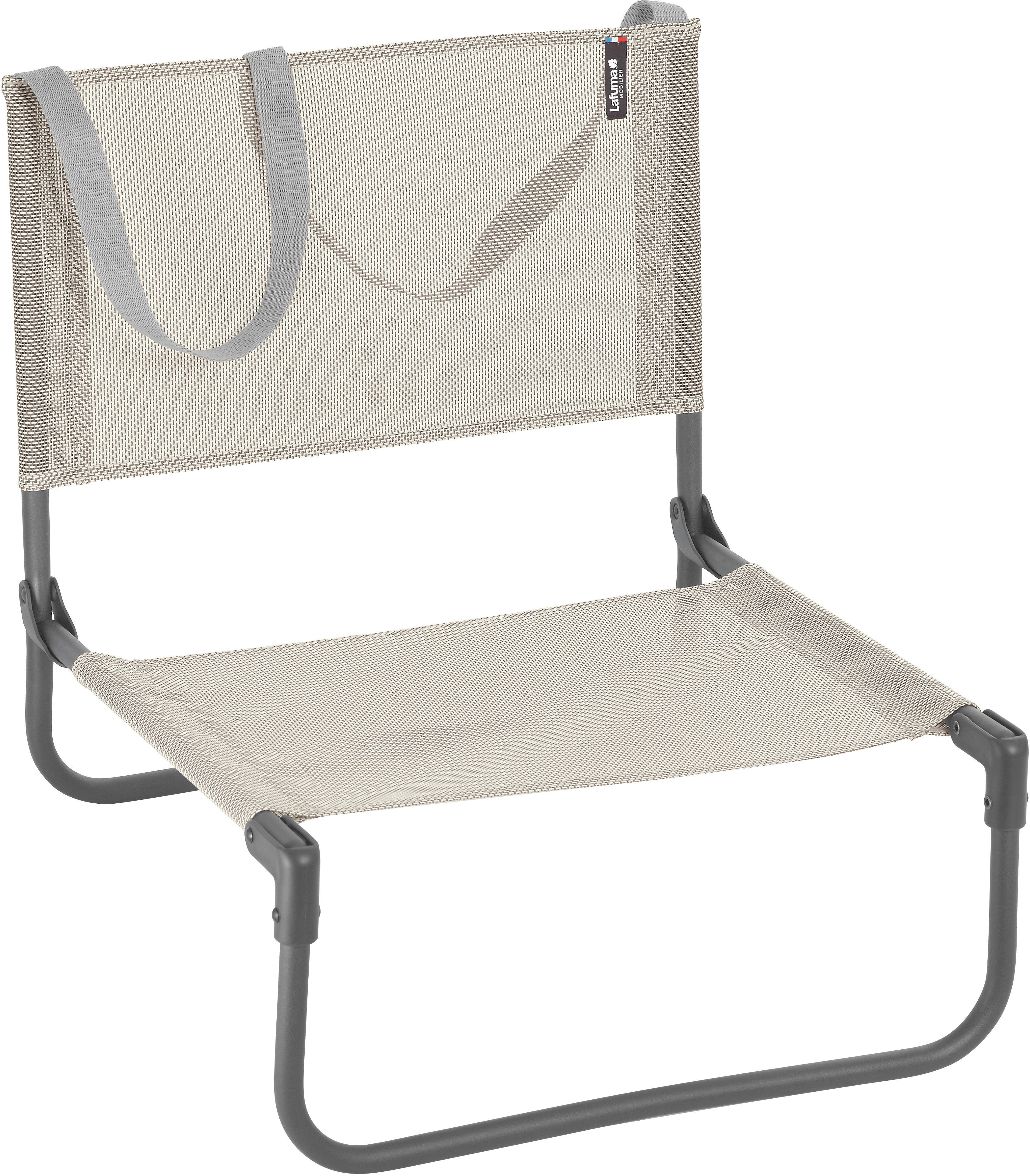 Lafuma Mobilier Cb Beach Chair With Cannage Phifertex